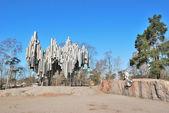 Helsinki. Monument to Sibelius — Stock Photo