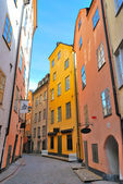 Stockholm. Street of Old town — Stock Photo