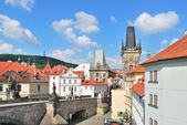 Prague. Lesser Town Towers — Stock Photo