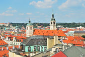 Prague. Top-view of the Old Town — Stock Photo
