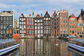 Amsterdam Old Quarter — Stock Photo