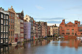 Amsterdam Old Town — Stock Photo