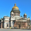 St. Isaac's Cathedral in St. Petersburg - 图库照片