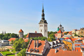 View of Old Tallinn — Stock Photo
