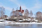 Helsinki. Luoto Island — Stock Photo
