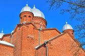 Lappeenranta Cathedral. Finland — Stock Photo