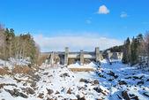Imatra, finlandia. cañón imatrankoski — Foto de Stock