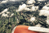 Aerial view of Thailand Countryside — Stock Photo