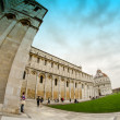 Famous Architecture of Miracle Square in Pisa — Stock Photo #10410712