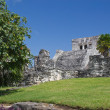 Famous archaeological ruins of Tulum in Mexico — Stock Photo