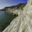 Scala dei Turchi in Agrigento, Italy - Stock Photo