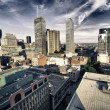 Buildings and Architecture of Montreal, Canada - Stock Photo