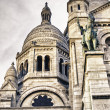 Architectural Detail of Paris in Winter - Stock fotografie