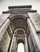 Struktura oblouku triumf v paříži — Stock fotografie