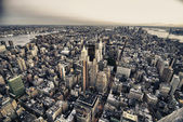 Architecture and Colors of New York City, U.S.A. — Stock Photo
