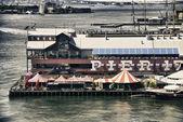 Pier 17 in New York City, U.S.A. — Stock Photo