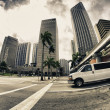Stock Photo: Streets and Buildings in Miami