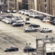 Elevated open Parking in New York City, U.S.A. — Stock Photo