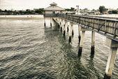 Pier v fort myers, florida — Stock fotografie