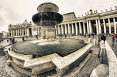 Architectural Detail in Piazza San Pietro, Rome — Stock Photo