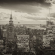 Aerial view of New York City Skyline — Stock Photo #9884745