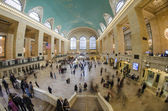 Tourists and Shoppers in Grand Central, NYC — Fotografia Stock
