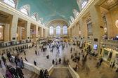 観光客や買い物のグランドセントラル駅、ニューヨーク — ストック写真