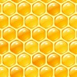 Vector honey background — ストックベクタ