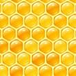 Vektor-Honig-Hintergrund — Stockvektor