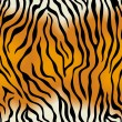 Tiger skin. Vector seamless texture - Stockvektor