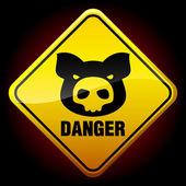 Warning sign — Stock vektor