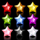 Jewelry Star — Stock Vector