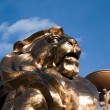 MGM Grand Hotel Lion — Stock Photo