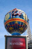 Paris Hotel and Casino — Stock Photo