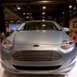 Постер, плакат: Ford Focus Electric Car Front