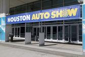 Entrada do salão automóvel de houston — Foto Stock