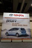 Toyota Prius Ad — Stock Photo