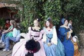 Renaissance Princesses — Stock Photo