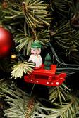 Vánoční strom dekorace — Stock fotografie