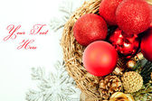 Happy new year and christmas background — Stock Photo