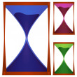 Hour glass — Stockvectorbeeld