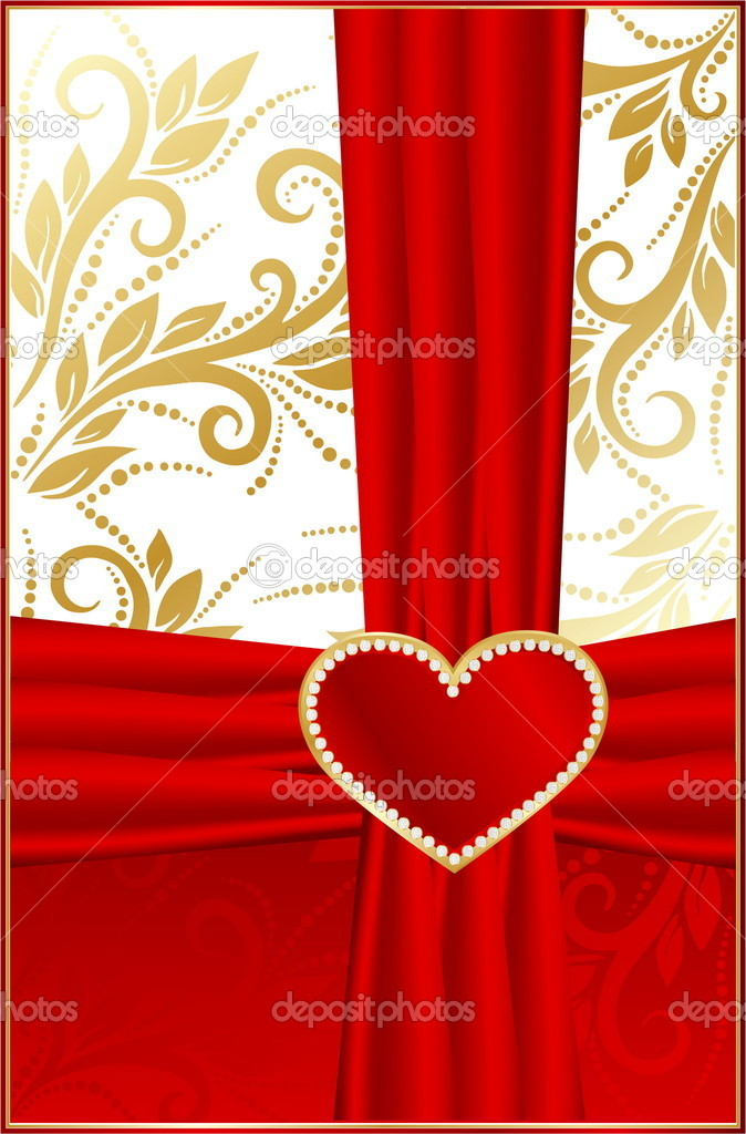 Background with hearts  Stock Vector #9175291