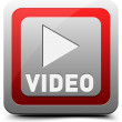 Watch Video button — Stock Vector