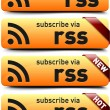 Subscribe button - Stock Vector