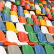 Stadium Chairs — 图库照片