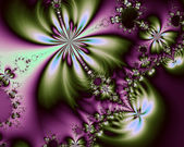 Abstract fractal background for art projects, pamphlets, brochures or cards — Stock Photo