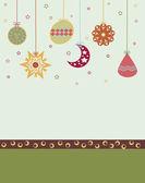 Beautiful background Christmas (New Year) card . — Zdjęcie stockowe