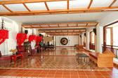 Lobi iç lüks hotel, phuket, tayland — Stok fotoğraf