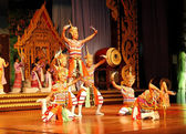 PATTAYA, THAILAND - SEPTEMBER 7: The famous Thai Culture and tra — Stock Photo