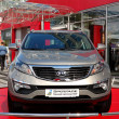 Stock Photo: KIEV - SEPTEMBER 11: New generation of KiSportage at Yearly au